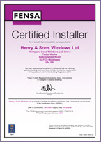 FENSA Certified Installer